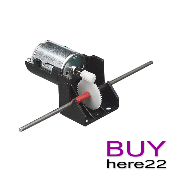 Electric motor with worm drive gearbox hobby modelling for Electric motor with gearbox